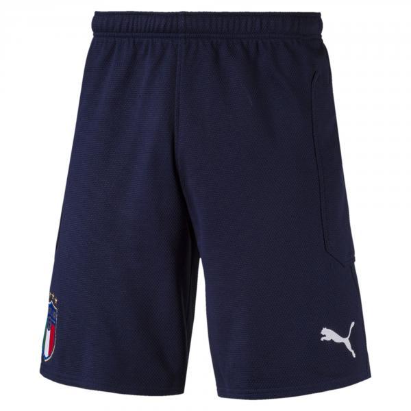 Pantaloncini Casual Figc Italia Blu FIGC Store