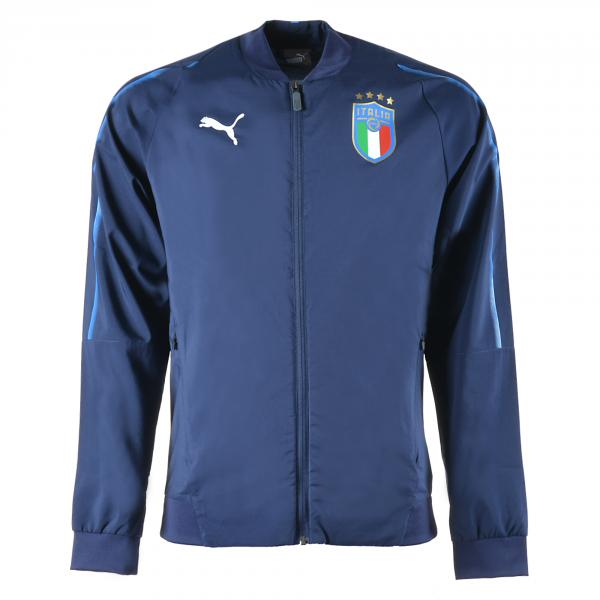 Figc Italia Woven Jacket Blu-azzurro FIGC Store