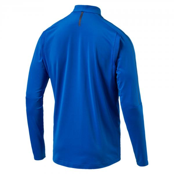 Figc Italia 1/4 Zip Training Top Azzurro-blu FIGC Store
