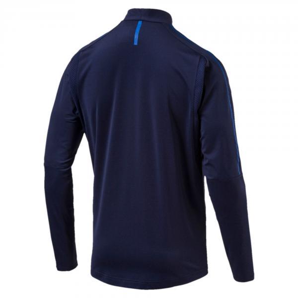 Puma Felpa Figc Training Top Italia Blu-azzurro Tifoshop