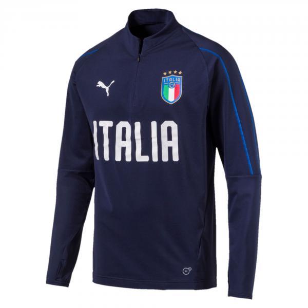 Puma Felpa Figc Training Top Italia Blu-azzurro
