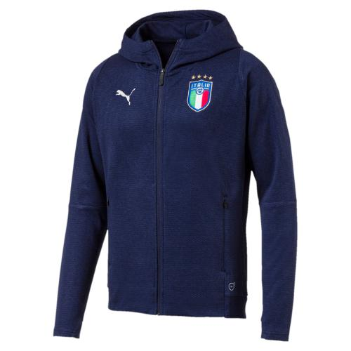 FIGC Italia Casual Performance Zip-Thru Hoody