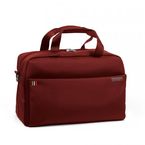DUFFLE  BURGUNDY RED