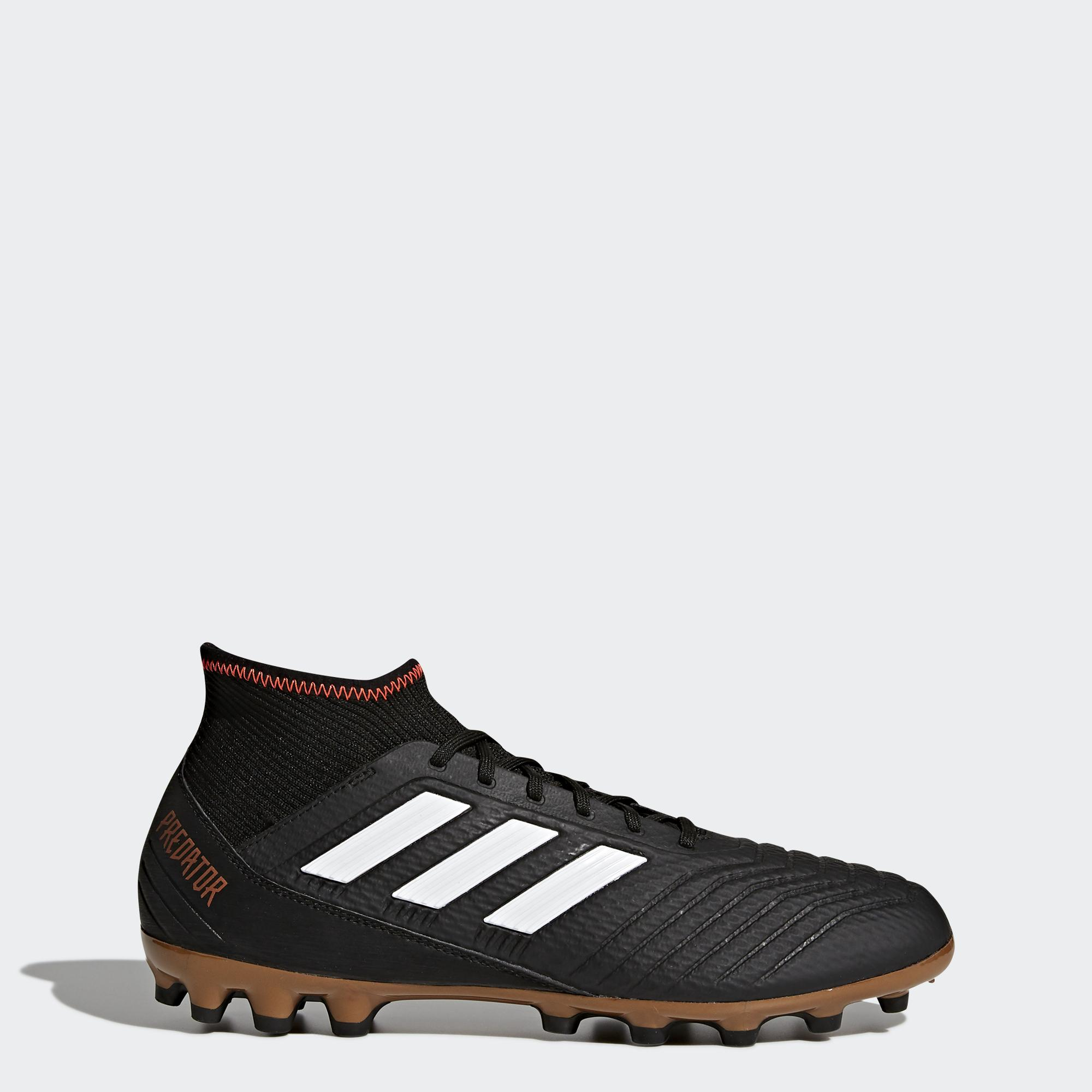 Adidas Football Shoes Predator 18.3 Ag Black - Tifoshop.com 70355faa42