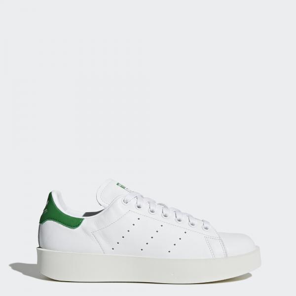 Adidas Originals Scarpe Stan Smith Bold  Donna Bianco