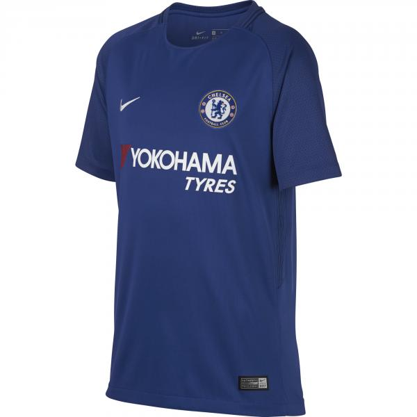 Nike Maglia Gara Home Chelsea Junior  17/18 Blu