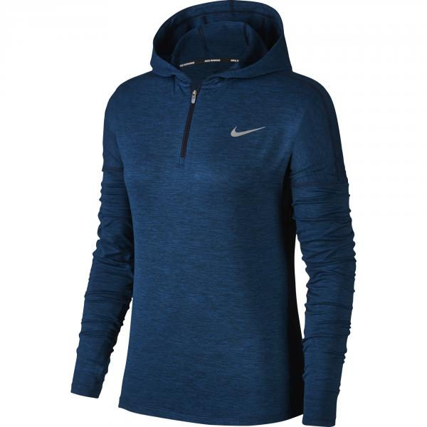 Nike Felpa Element  Donna Blu