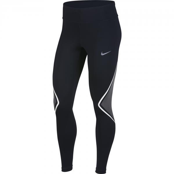 Nike Pantalone Power  Donna Nero