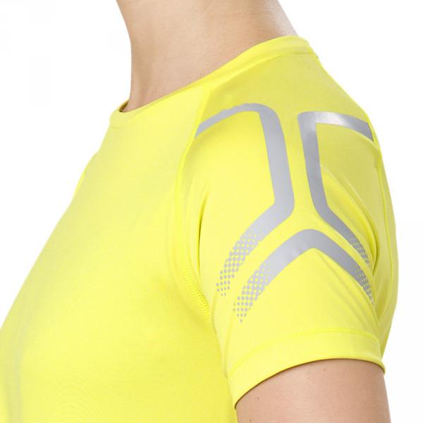 Asics T-shirt Icon  Donna Giallo Tifoshop