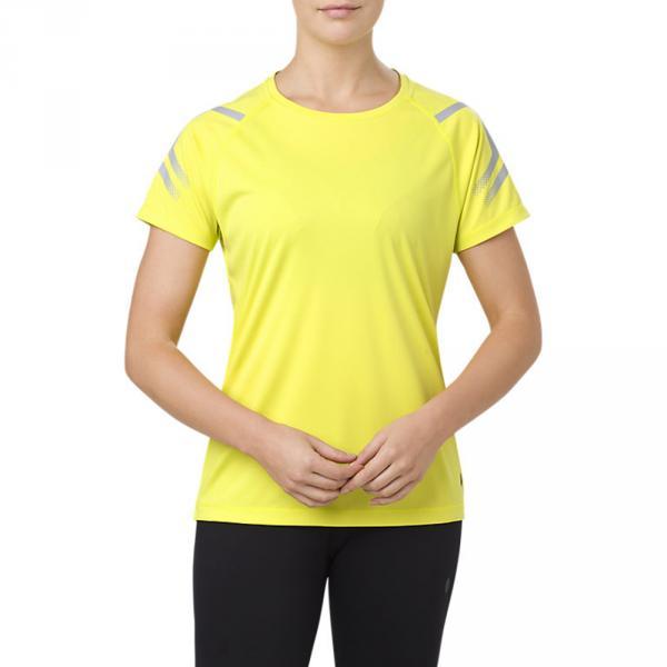 Asics T-shirt Icon  Donna Giallo