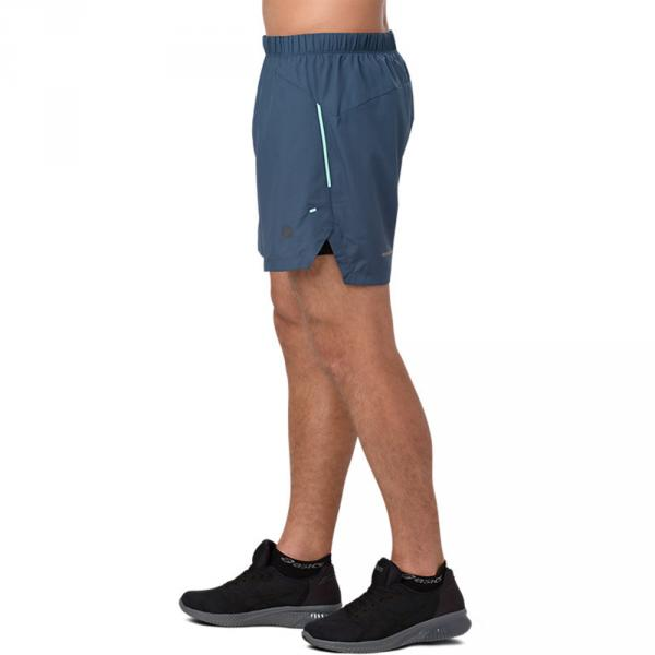 Asics Short Pants Cool 2-n-1 5in DARK BLUE Tifoshop