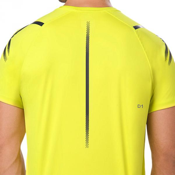 Asics T-shirt Icon Giallo Tifoshop