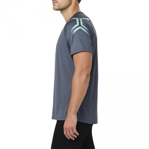 Asics T-shirt Icon Blu Tifoshop