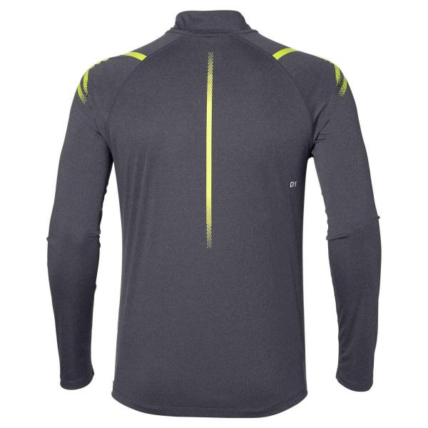 Asics Maillot Icon Ls 1/2 Zip DARK GREY HEATHER Tifoshop