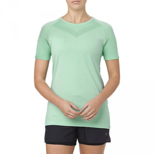 Asics T-shirt Cool  Donna Verde