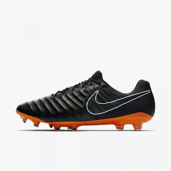 hot sale online 9d005 42051 ... Nike Football Shoes Legend 7 Elite Fg BLACK TOTAL ORANGE-BLACK-WHITE  Tifoshop ...