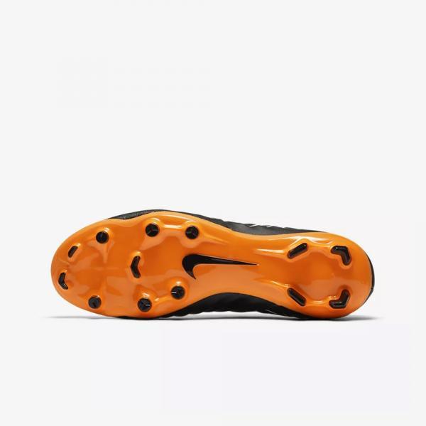 2676531fe ... Nike Football Shoes Legend 7 Academy Fg BLACK TOTAL ORANGE-BLACK-WHITE  Tifoshop ...