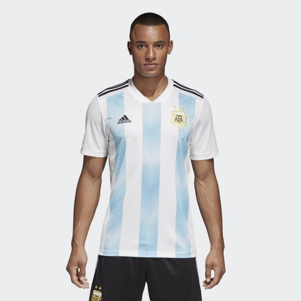 Adidas Maglia Gara Home Argentina   18/20 Bianco Azzurro Tifoshop