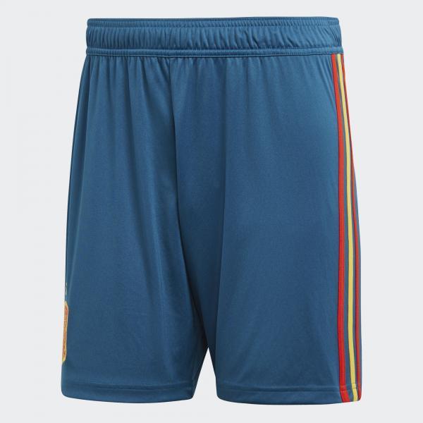 Adidas Pantaloncini Gara Home Spagna   18/20 Blu
