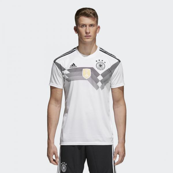 Adidas Maglia Gara Home Germania   18/20 Bianco Tifoshop