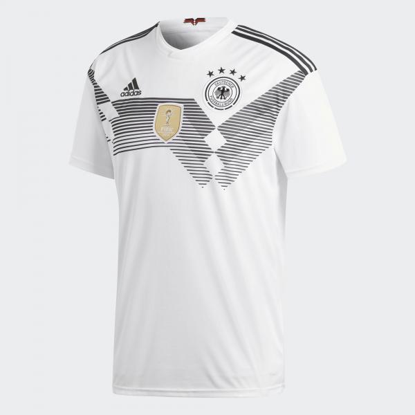 Adidas Maglia Gara Home Germania   18/20 Bianco