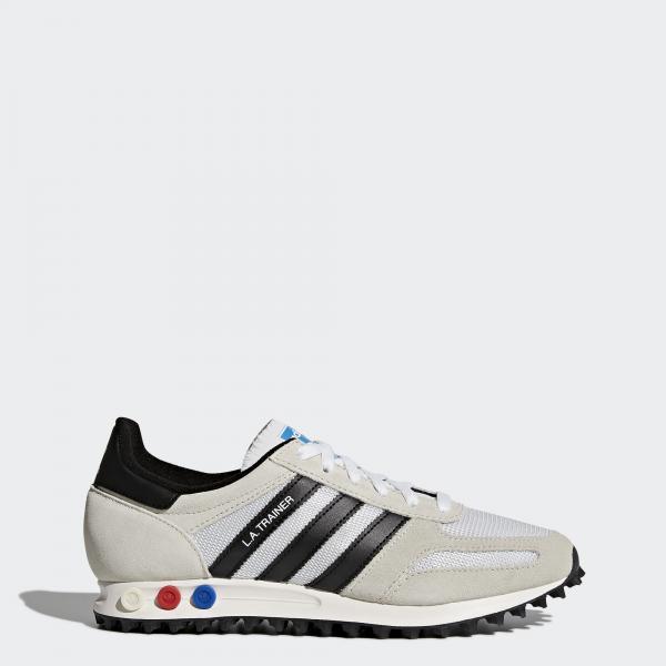 Adidas Originals Scarpe La Trainer Og BIANCO