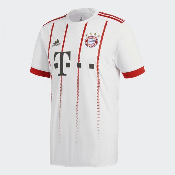 Adidas Maglia Gara Champions League Bayern Monaco   17/18 Bianco