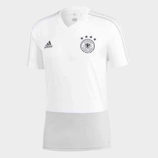 Adidas Maglia Allenamento Germania   18/20 Bianco