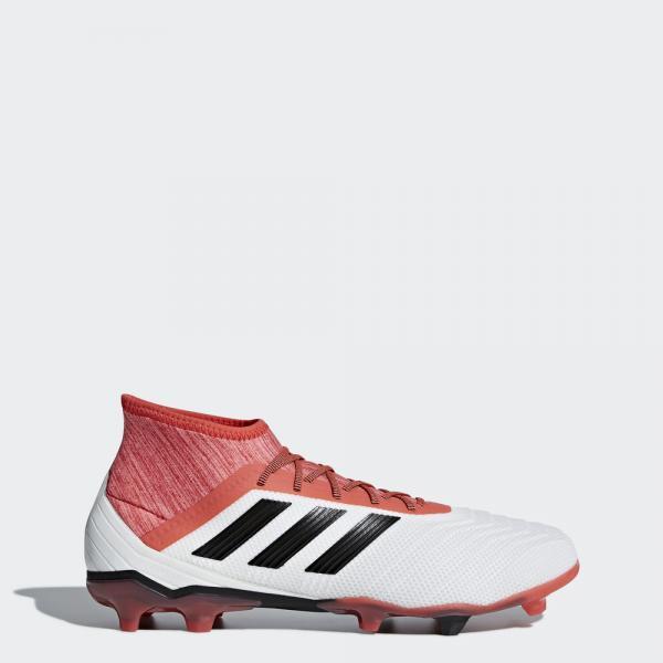 Adidas Scarpe Calcio Predator 18.2 Fg BIANCO