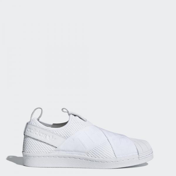 Adidas Originals Scarpe Superstar Slip-on  Donna BIANCO