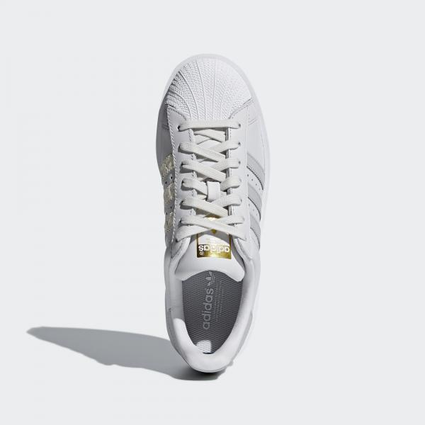 official photos 3ea27 18e0f ... Adidas Originals Scarpe Superstar Bold Donna GRIGIO Tifoshop ...