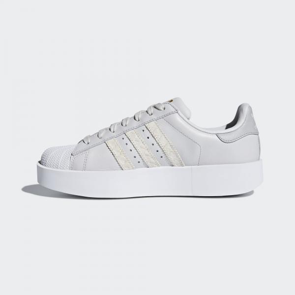 ... Adidas Originals Scarpe Superstar Bold Donna GRIGIO Tifoshop ...