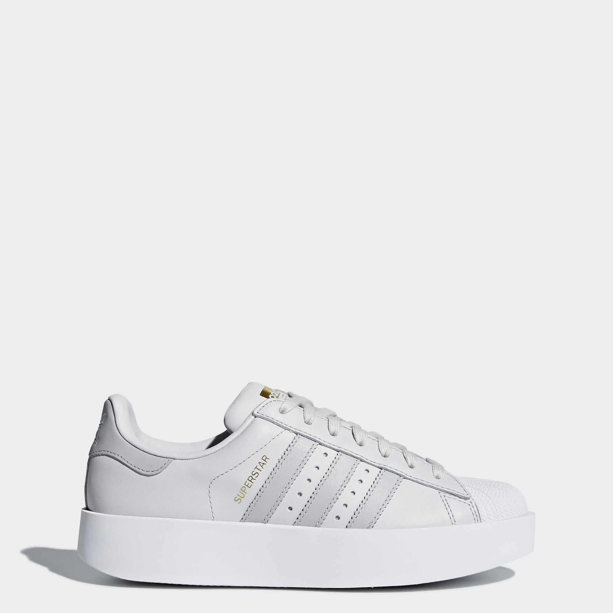 90071aa1619 Adidas Originals Chaussures Superstar Bold Femmes Grey - Tifoshop.com