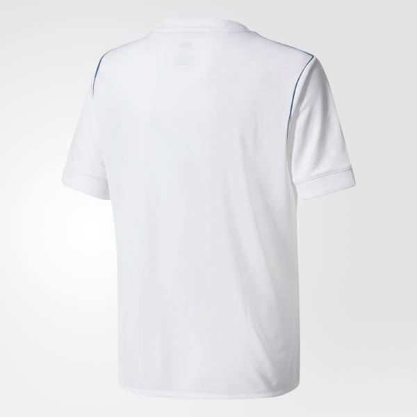 Adidas Maglia Gara Home Real Madrid Junior  17/18 Bianco Tifoshop