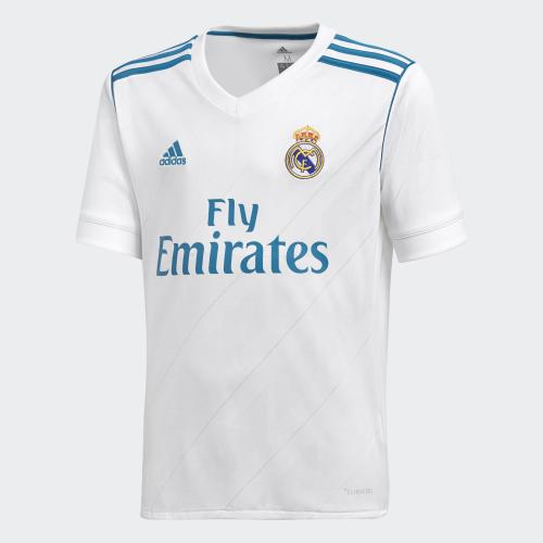 Adidas Maglia Gara Home Real Madrid Junior  17/18