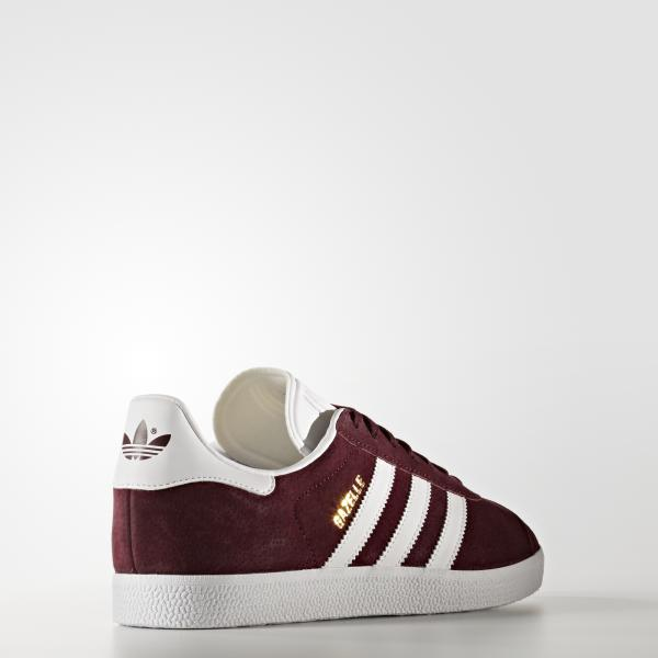 Adidas Originals Chaussures Gazelle BORDEAUX Tifoshop