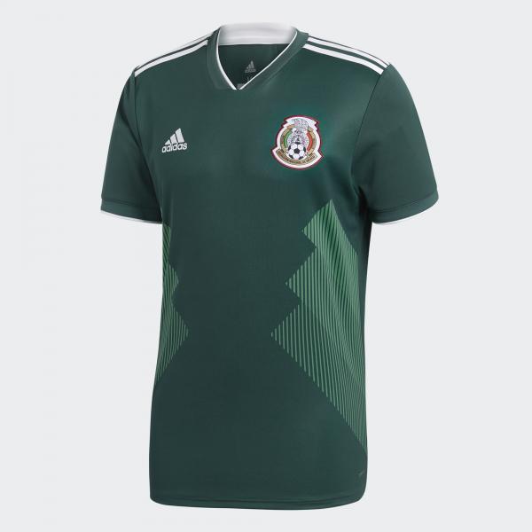 Adidas Maglia Gara Home Messico   18/20 Verde