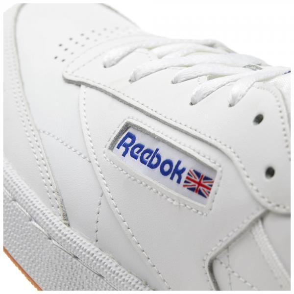 1c43a425bbcbc0 Reebok Shoes Club C 85 Intense White royal-gum - Tifoshop.com