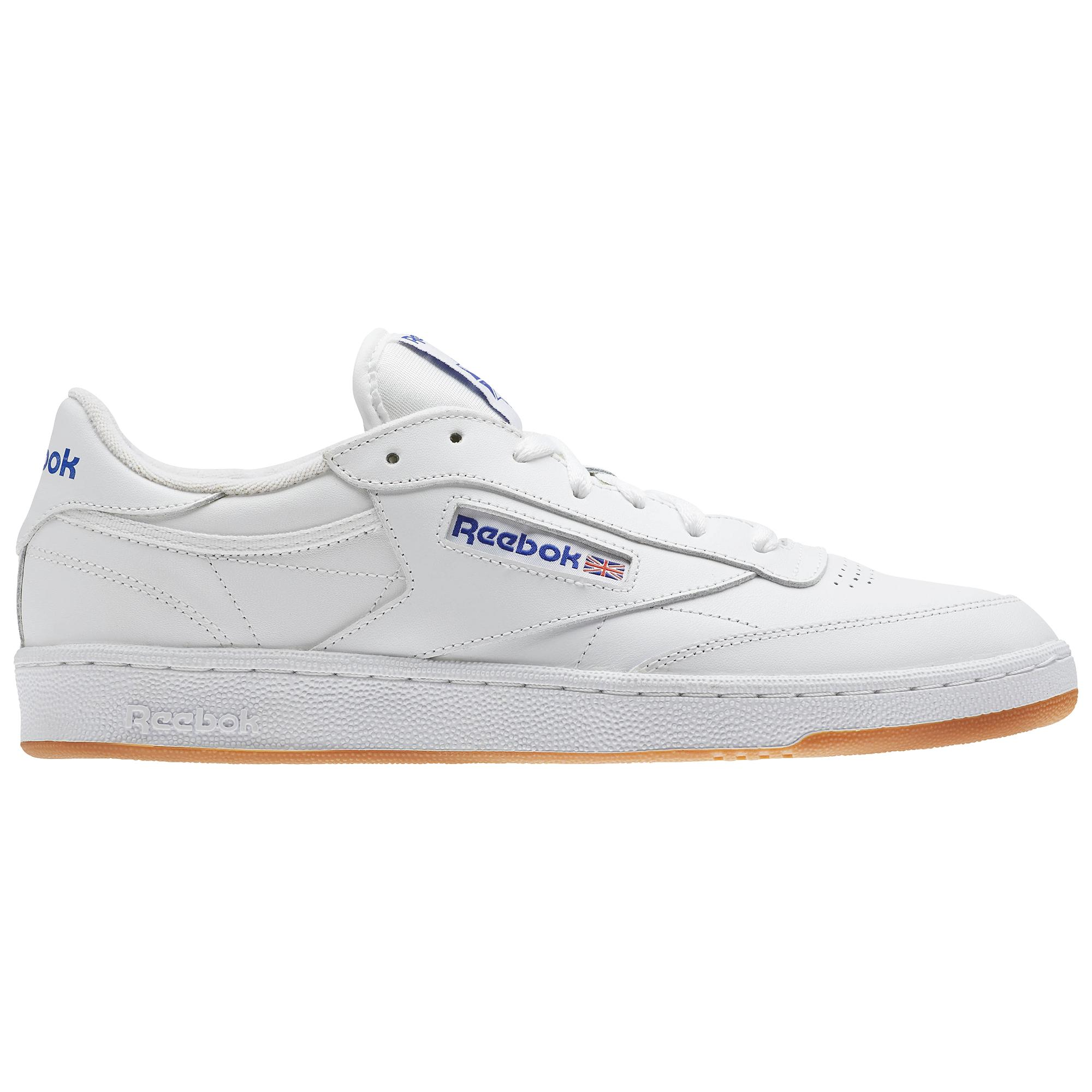 5b749043e9a62e Reebok Shoes Club C 85 Intense White royal-gum - Tifoshop.com