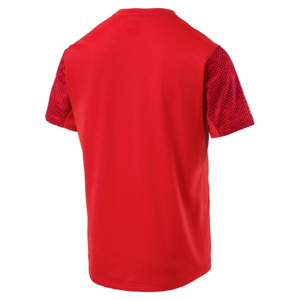 Puma T-shirt Graphic Rosso Tifoshop