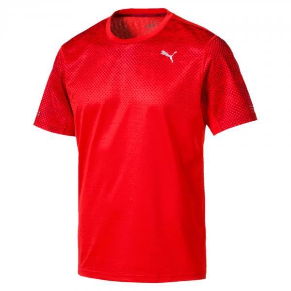Puma T-shirt Graphic Rosso