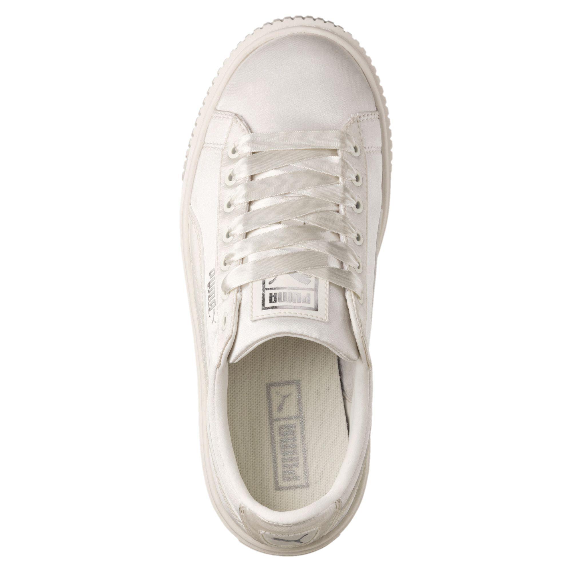 new product 86fe6 ab02c Puma Shoes Basket Platform Tween PS Junior