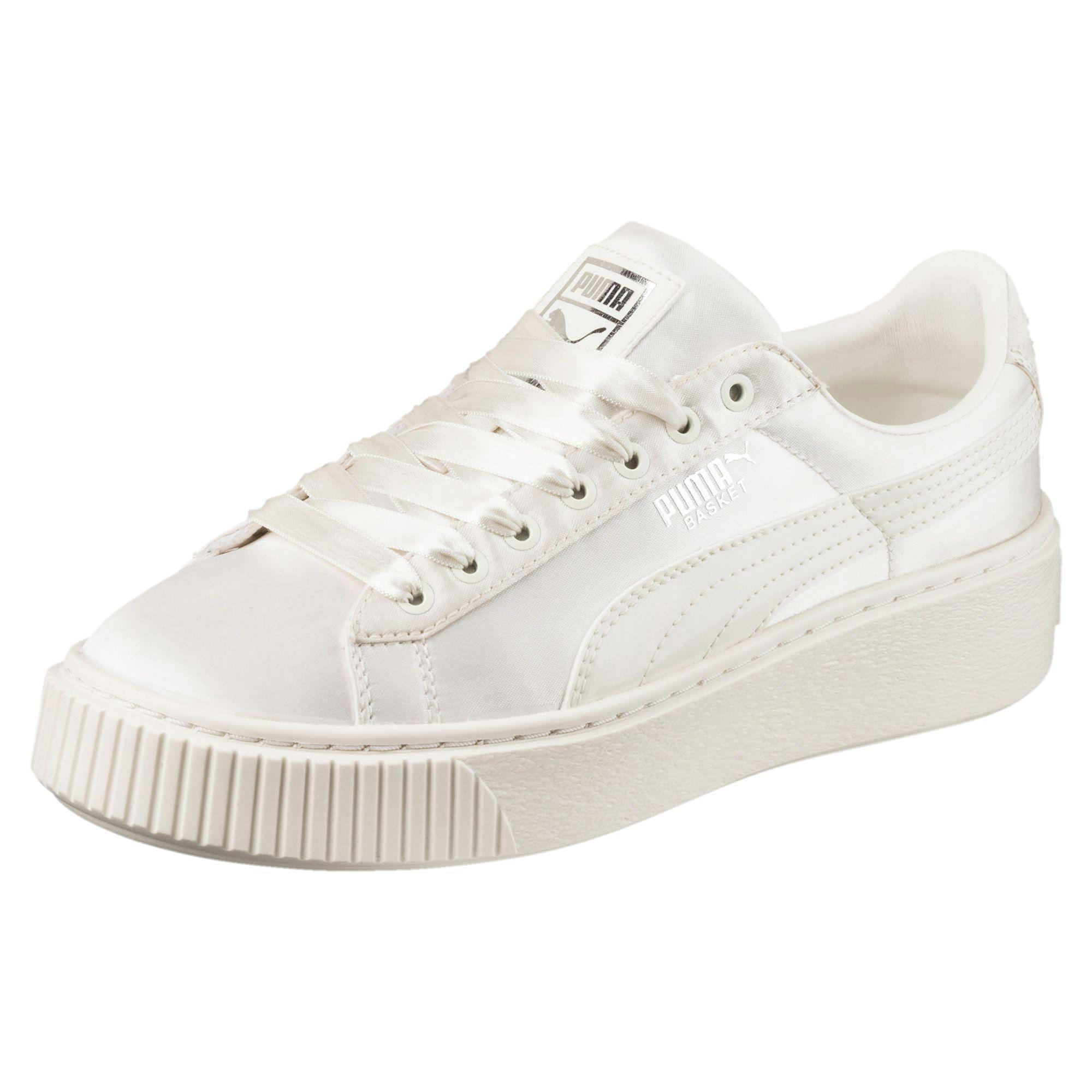 Junior Basket Scarpe Ps Platform Puma Tween Bianco XUdqzw