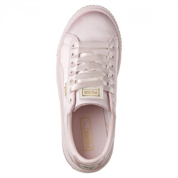 new product 32a6f ad3f0 Puma Shoes Basket Platform Tween PS Junior