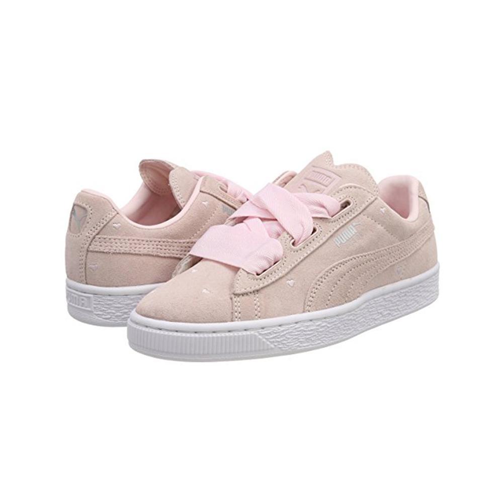 promo code 99856 39e2f Puma Shoes Suede Heart Valentine Junior