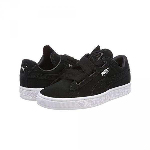 promo code fd72a 0f212 Puma Shoes Suede Heart Valentine Junior