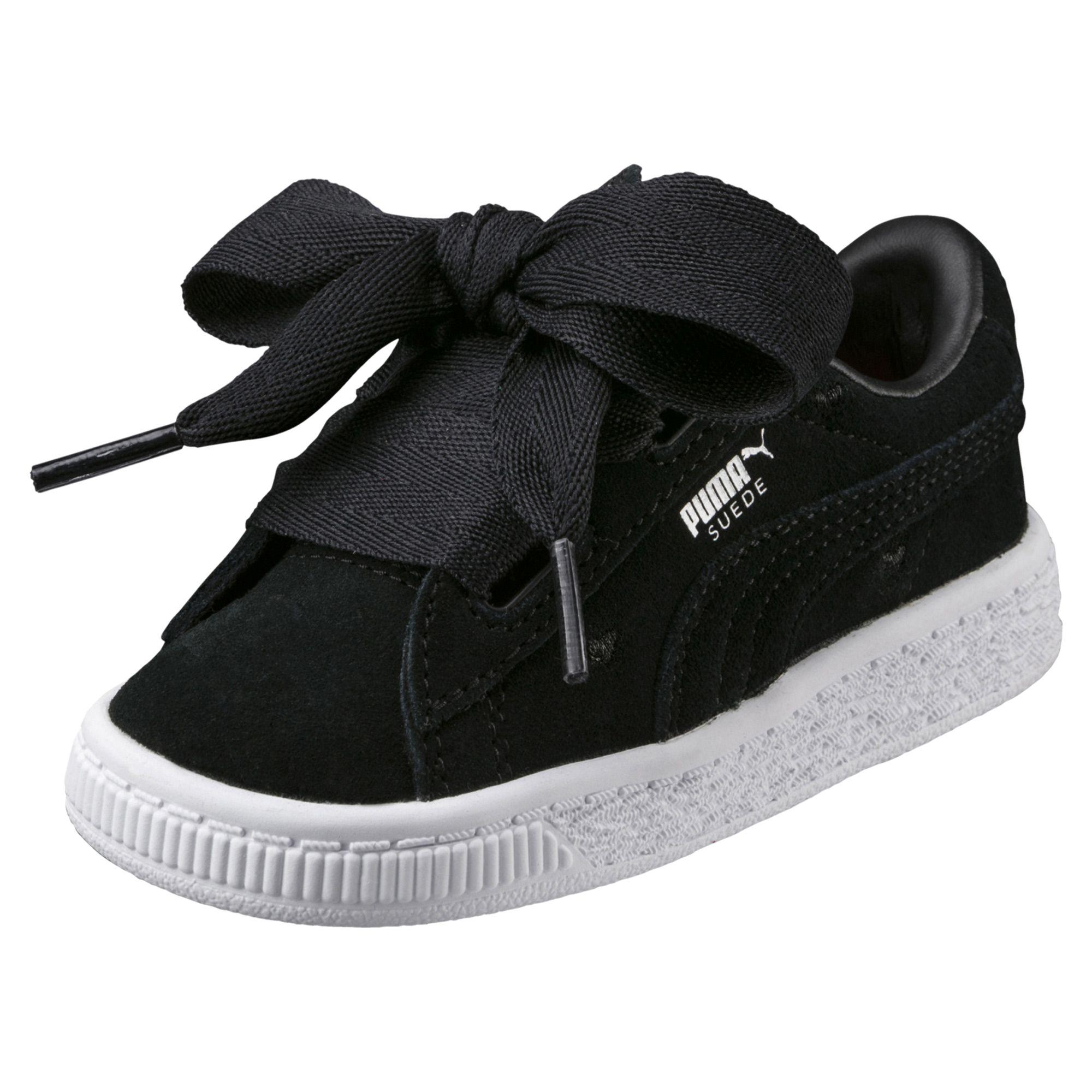 low priced 34917 d32c4 Puma Shoes Suede Heart Valentine PS Junior