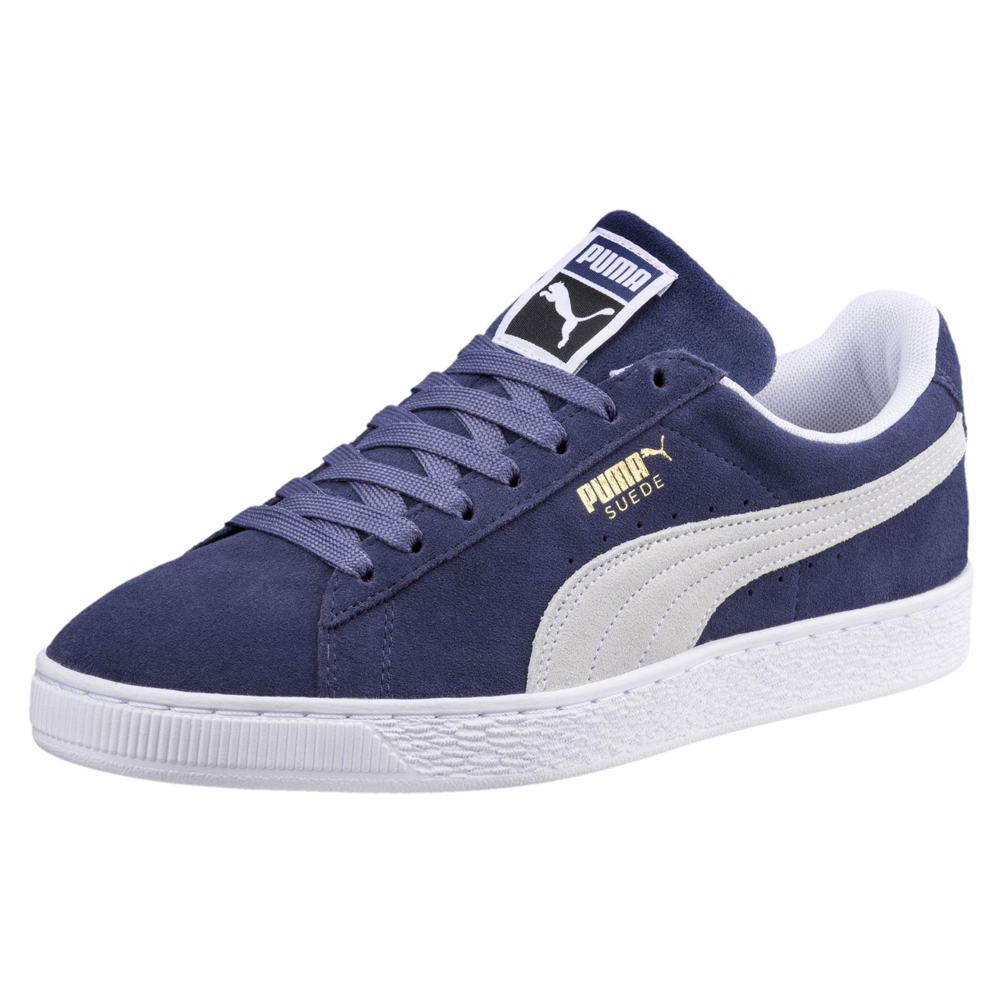 0bd4b23ee5e Puma Shoes Suede Classic Blue Indigo-puma White - Tifoshop.com