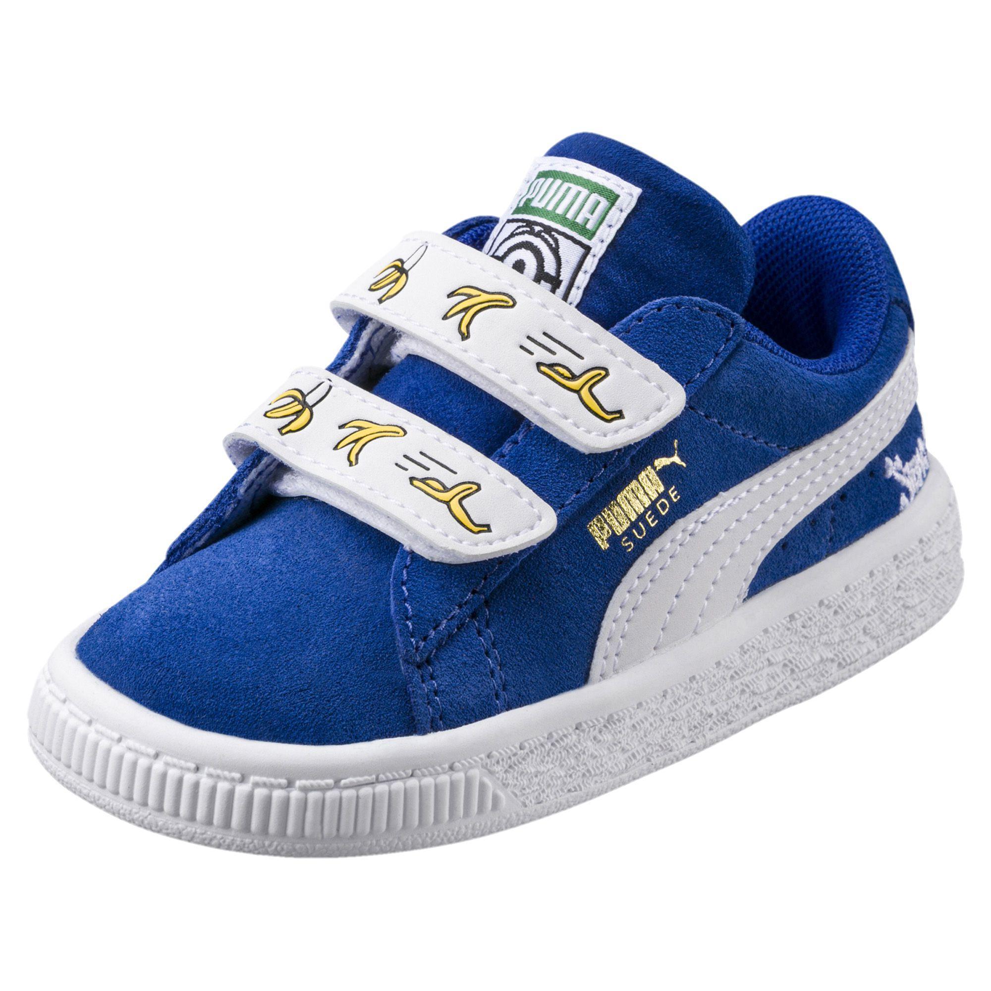 Puma Shoes Minions Suede V Ps Junior Olympian Blue-puma White - Tifoshop.com 0c5b3c94d