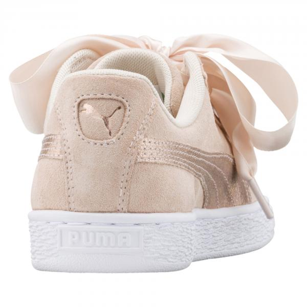Puma Scarpe Suede Heart Lunalux  Donna Crema Tifoshop